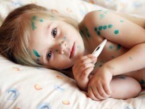 Чем отмыть зеленку с кожи у ребенка и взрослого