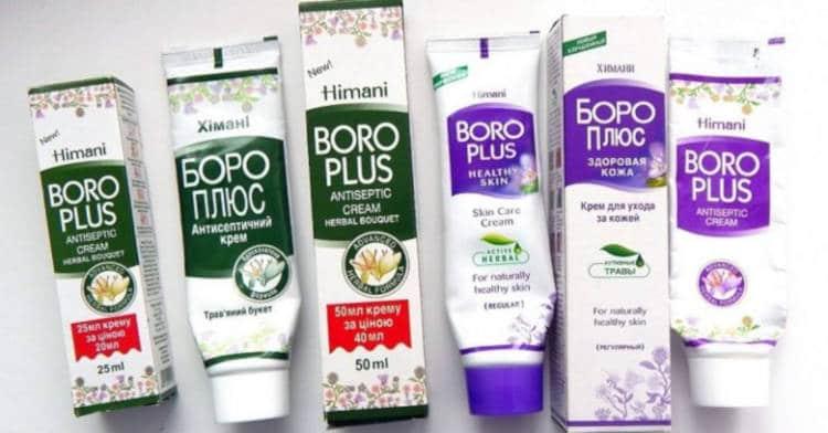 От чего помогает Боро-Плюс: бальзам для губ, различные кремы