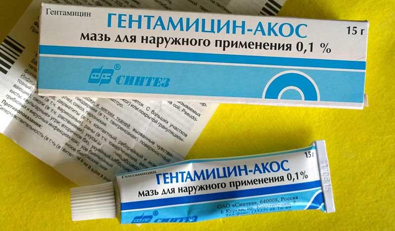 7 лучших мазей с антибиотиком для заживления раны