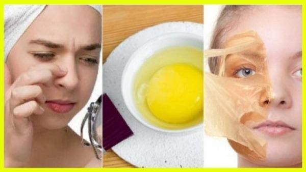 яичные маски