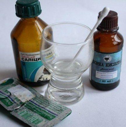 Рецепт с борным спиртом