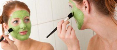 Лечебные маски для лица в домашних условиях