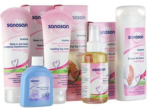 Использование крема Sanosan при беременности