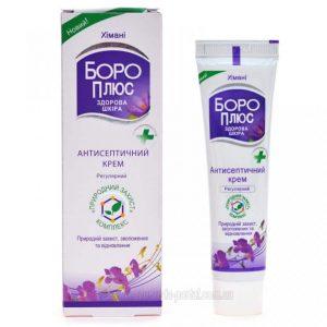 Применение крема для лечения кожи