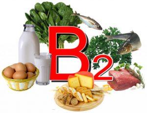 В каких продуктах содержится витамин B2